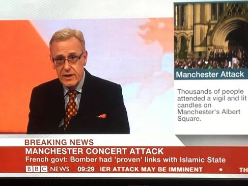 Me on BBC Manchester attack