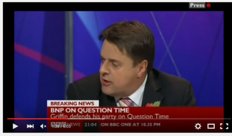 Nick griffinon question time