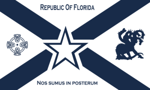 republic of florida flag