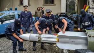 italian far-right missile